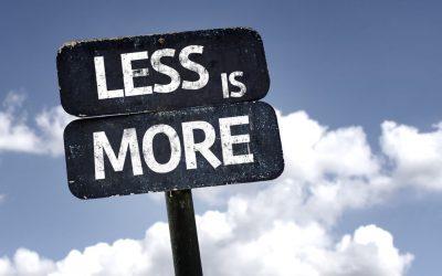 """Quando arriva il momento del dentista, il nostro studio è coerente con il principio """"LESS IS MORE"""""""
